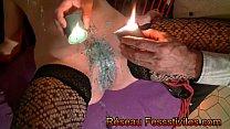 BDSM fusion bougies martinets fouet