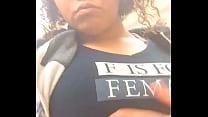Risky Public Walmart Exposure Masturbation With Big Tits Lightskin Ebony - 69VClub.Com