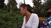 Elephant Riding In Thailand With Teen Couple Wh
