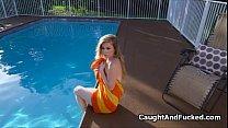 Fucking nude tanning neighbor on video pornhub video