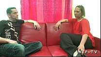 Anal casting couch of a french black milf in st...
