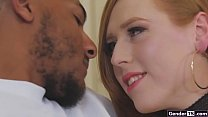 Trans Shiri Allwood Anal Ride Black Cock