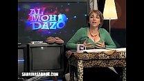 Sabrina Sabrok, Kisses in her Big Boobs on tv show