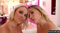 Alexis Monroe n Blair Williams threesome