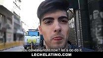 Hot Latino Seduced And Banged Bareback For Cash - LECHELATINO.COM