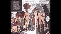 Vintage Breast Fetish Bondage Comic