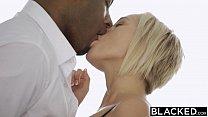 BLACKED Blonde Kate England Gets Anal From Huge Black Cock Vorschaubild