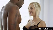 BLACKED Blonde Kate England Gets Anal From Huge Black Cock Image