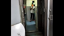 Priyaanil Delhi cpl in train during Goa trip