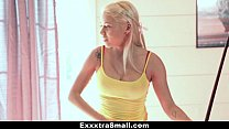 ExxxtraSmall - Blonde Daughter Fucks Her Step-Dad For Money thumbnail