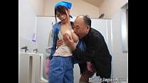 Bokep Asian maintenance lady cleans wrong gratis di BokepSave.Info