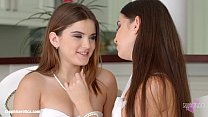 Passionate lesbian sex with Evalina Darling and Diana Dolce on Sapphic Erotica pornhub video