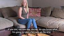 British fake agent bangs deep throat blonde Vorschaubild