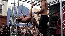 mayanti langer naked ⁃ folsom street fair 2014 thumbnail