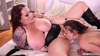 Anita B. Gets Dominated in Both Holes by Laura Orsolya pornhub video