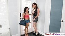 Beautiful Blonde & Latina MILFs Sara Jay & Olivia O'Lovely Love BBC