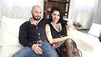 CASTING ALLA ITALIANA - Sesso violento per l'italiana Lady Muffin e un cazzone thumbnail