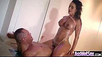 Anal Sex Scene With Big Wet Butt Oiled Sluty Gi...