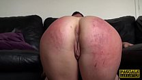 Spanked UK bird fond of scarification