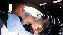 FantasyHD car wash sex orgy with two girls