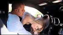 FantasyHD car wash sex orgy with two girls Thumbnail