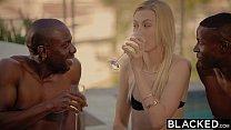 BLACKED Alexa Grace First Interracial Threesome thumbnail