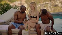 BLACKED Alexa Grace First Interracial Threesome image
