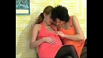 Pregnant Lesbians Fisting preview image