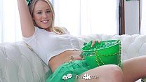 Tiny4K Festive busty Alexis Adams fucks her bf on St Patricks day pornhub video
