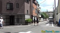 Hot japanese babes groped image
