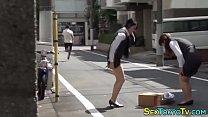 Hot japanese babes groped thumbnail