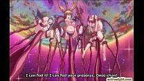 Pregnant anime cutie caught and gangbanged by tentacles Vorschaubild