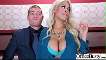 Sex In Office With Big Round Tits Girl (Bridget...
