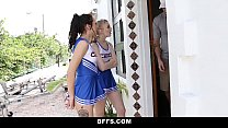 BFFS - Hot Cheer Babes Suck & Fuck Coach video