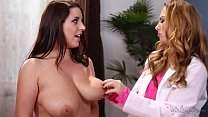 Carter Cruise and Angela White at Girlsway video