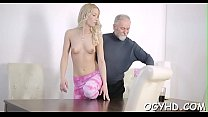 Old naughty dude fucks young aperture Thumbnail