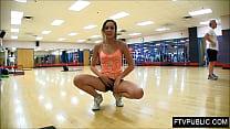 busy gym masturbation Vorschaubild
