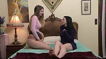I wanted to try lesbian sex, but I was so shy! - Veruca James, Stella Cox video