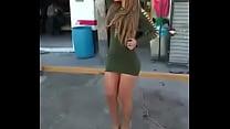 Anel Rodriguez de edecan bailando en putivestid...