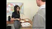 YouPorn - Stunning Secretary Fucks Pizza Guy