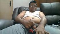 Indian Health worker masturbating on webcam