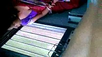 Hot Bengali Aunty Exposing Boobs Through Black Bra In Train pornhub video