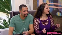 Weird amateur couple switch partners for the first time