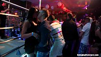 Slutty party chicks fucking in a club ◦ shemale dirty talk thumbnail