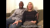 Amateur Mom decides to take on a Big Black Cock in Interracial Video Thumbnail