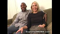 Amateur mom decides to take on a big black cock in interracial video - www.tubesex.com thumbnail