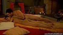 Русский гинеколог лижет красотке киску в гинекологическом кресле