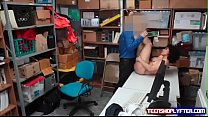 Security guard fuck latina teen Maya Morena to set her straight and let her go preview image