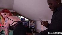Interracial bangers get to watch Redhead Zara DuRose filming her XXX action Thumbnail