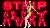 Gorgeous nurse striptease unclothed صورة